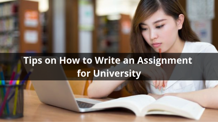 How to Write an Assignment