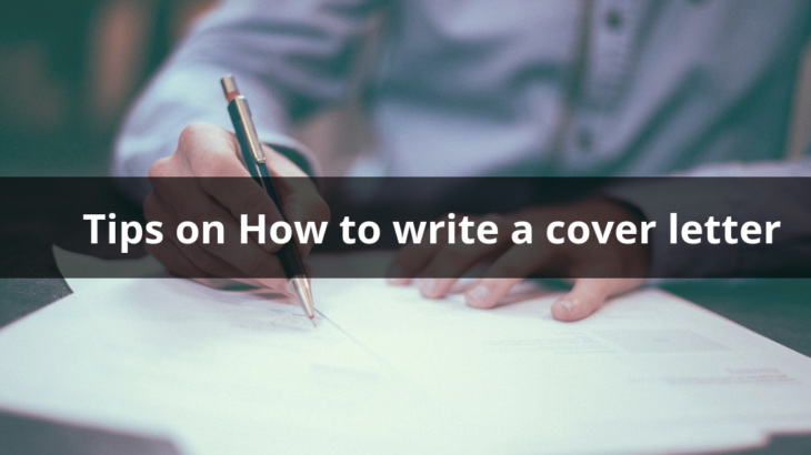 Professional Tips On How To Write A Cover Letter For Job